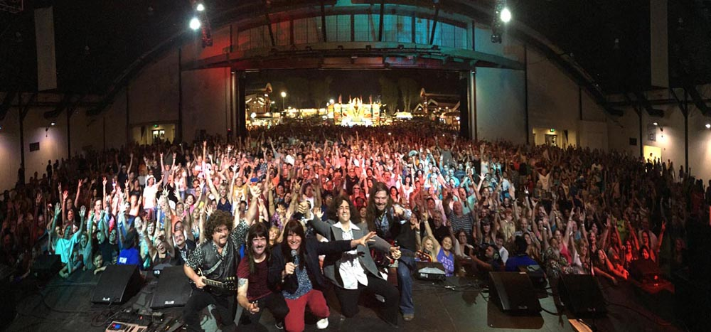 Journey Unaithorized sells out closing Friday at the Hamgar, OC Fair 2015
