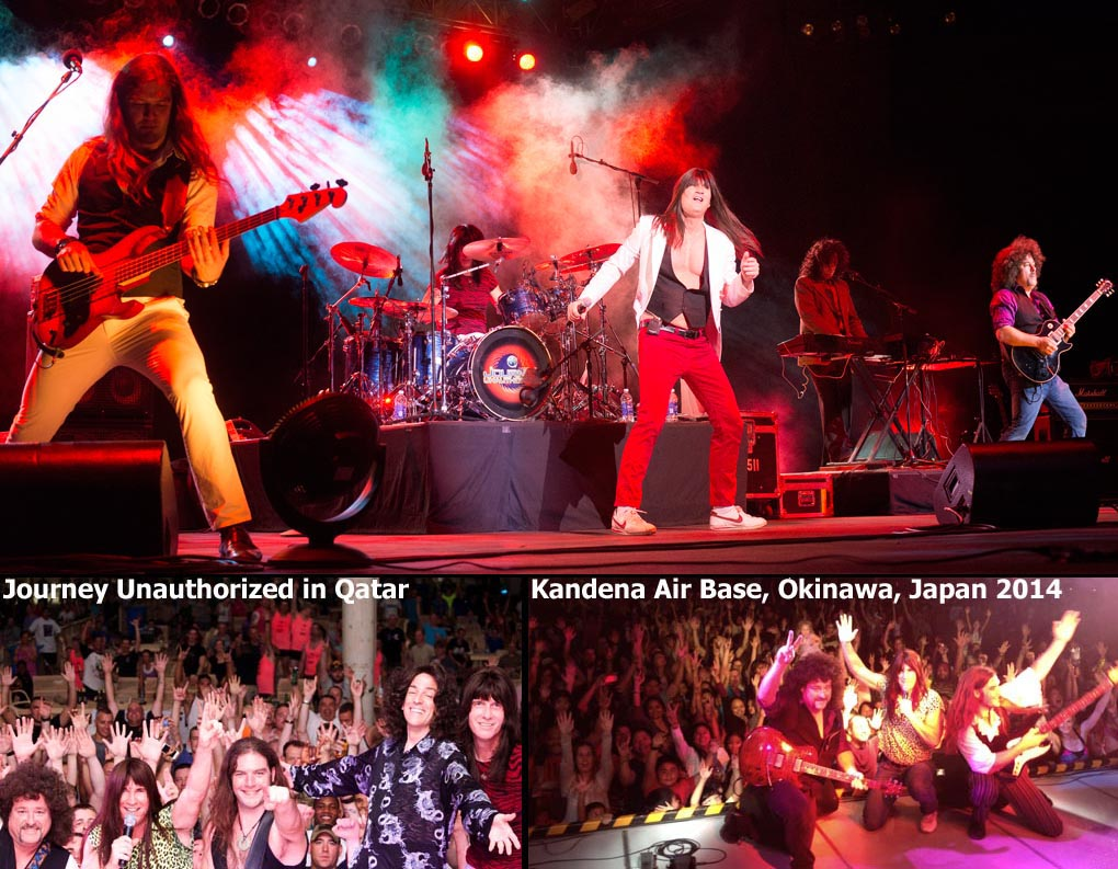 Journey Unauthorized in Qatar and Japan 2014