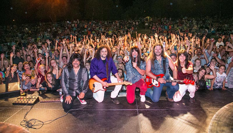Journey Unauthorized Sell-Out show in Rancho Murieta